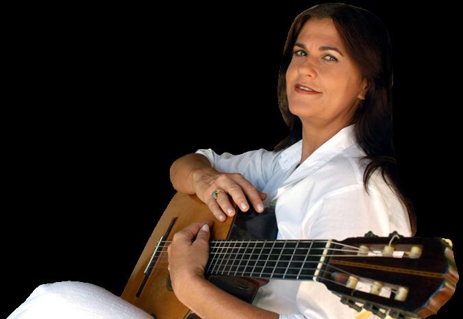 Bia Bedran com violão