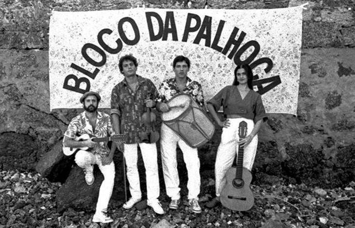 Foto de release do Show Bia Bedran e Bloco da Palhoça