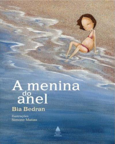 Capa do livro A menina do anel