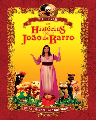 Capa do DVD Histórias de um João de Barro